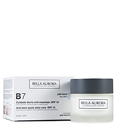 Bella Aurora B7 Anti-dark Spot Cream. Dry Skin. Spf 15 50ml