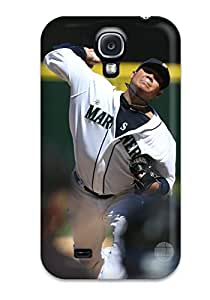New Seattle Mariners Tpu Skin Case Compatible With Galaxy S4