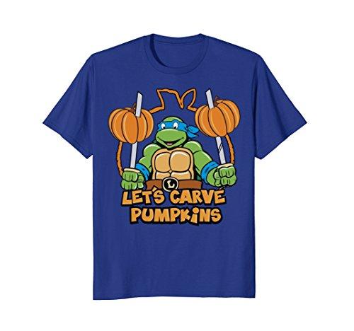 Teenage Mutant Ninja Turtles Let's Carve Pumpkins T-Shirt]()