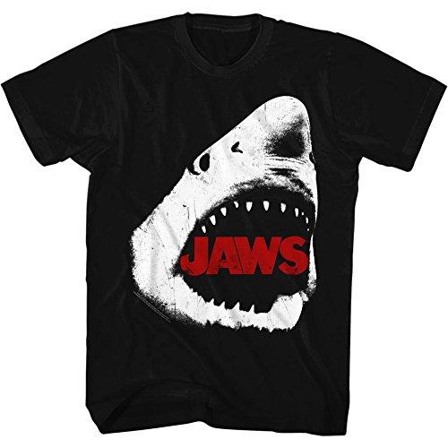 De Jaws Pour H Tee 2bhip Île 1970 shirt Noir Amity Homme Spielberg Film Thriller Requin HwEq51a