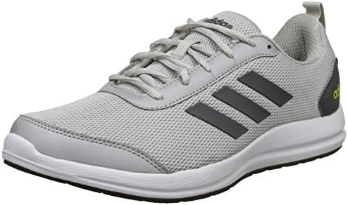 wholesale dealer 61710 8756b Adidas Men s Yking 2.0 Silvmt Grefiv Sslime Running Shoes-8 UK India