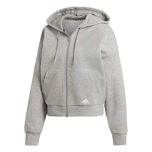 adidas Women's Must Haves 3-Stripes Hoodie (Knit Hoodies For Women)