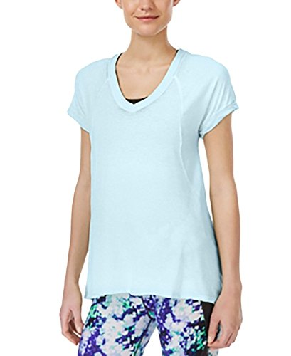 Calvin Klein Performance Burnout T-Shirt Aqua Medium
