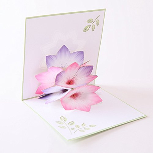 Susada Greeting Cards Handmade Birthday Wedding Invitation 3D Pop Up Card Flower New Die Cuts For Card Making On Prime For Scrapbooking Photo Abulm