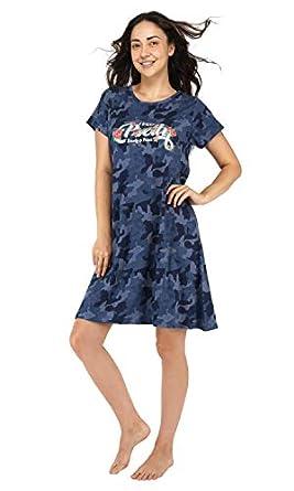 Artemis Women's Sleep Shirt-Long T Shirt-Short Nighty for Womens & Girls