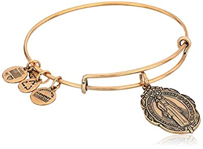 Alex and Ani Rafaelian Mother Mary Expandable Wire Bangle Bracelet