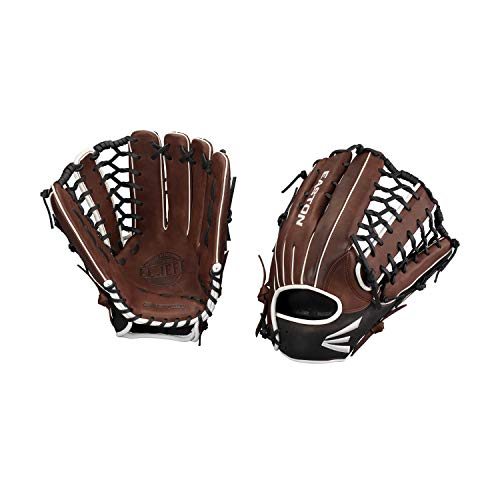 "EL Jefe Slow-Pitch Series Baseball Glove, Right Hand Throw, 13.5"", Coffee, Trap Web"
