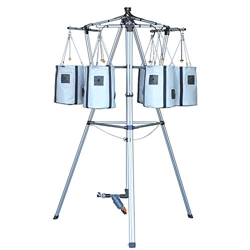 tering & Self Feeding Container Garden Tower with programmable Timer and Ability to Grow 36 to 54 Full Size Tomatoes, Vegetables, Herbs & Flowers - 4' x 4' Area ()