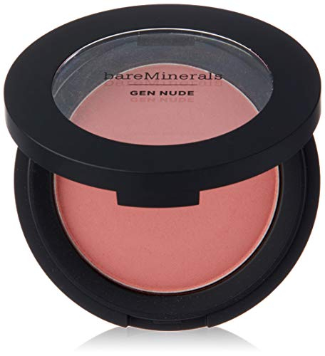 bareMinerals Gen Nude Powder Blush Call My Blush for Women, 0.21 Blush, 0.21 Ounce