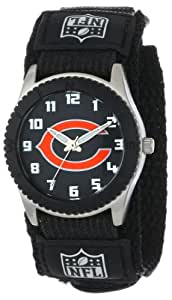"""Game Time Unisex NFL-ROB-CHI """"Rookie Black"""" Watch - Chicago Bears"""