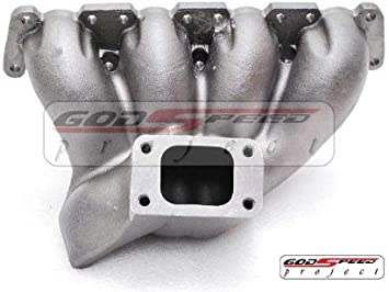 T3 Top Mount Cast Iron Turbo Manifold For VW Passat//Audi A4 1.8T Longitudinal