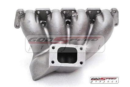 Vw Passat Audi 1.8t Longitudinal T3 Flange Top Mount Turbo Manifold Cast Style!