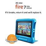 """Fire 7 Kids Tablet, 7"""" Display, ages 3-7, 16 GB, Blue Kid-Proof Case 6"""