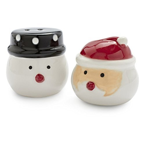 Tag Santa and Snowman S&p Shakers (203869) by Ganz