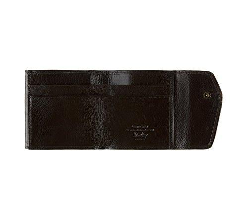 WITTCHEN Portafoglio, Dimensione: 9x9cm, Marrone, Materiale: Pelle di grano, Orizzontale, Collezione: Italy - 21-1-088-4