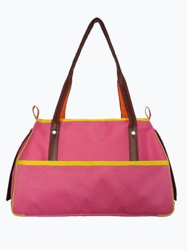 Petote Charlie Pet Carrier Bag, Pink