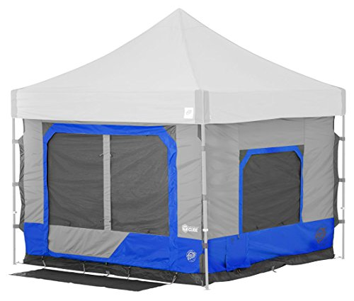 E-Z UP CC10SLRB Camping Cube 6.4 Outdoor Accessory, 10 by 10 , Royal Blue