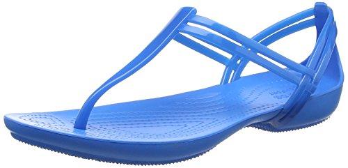 Ouvert Sandales Bout Femme blue Crocs Isabellatstrap Bleu R1wqxa