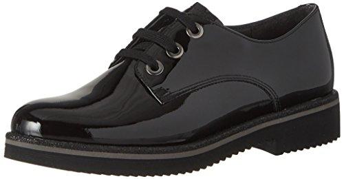 Gabor Vrouwen Comfortabele Sport Derbys Black (97 Zwart (black))