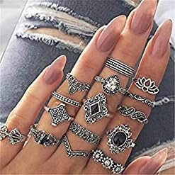 Sperrins-Boho-Style-Vintage-Punk-Silver-Rings-Sets-for-Women-Joint-Knuckle-Ring-Set-Plated-Silver-15PCS