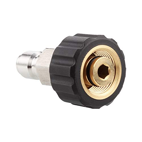 Acrux7 High Pressure Washer Connector M22 Thread to 3/8