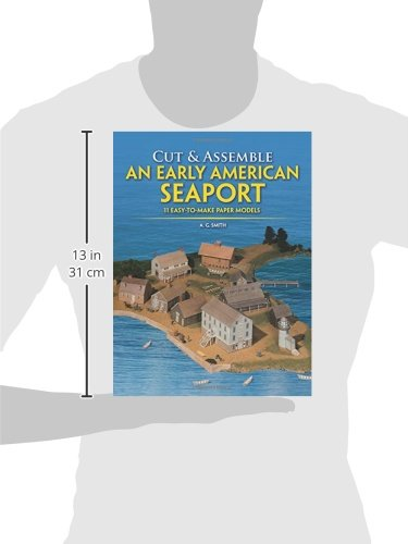 Cut & Assemble an Early American Seaport: Easy-to-Make