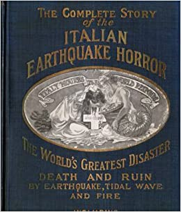 The complete story of the italian earthquake horror for And other stories italia