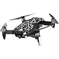 MightySkins Skin for DJI Mavic Air Drone - Black Damask | Min Coverage Protective, Durable, and Unique Vinyl Decal wrap cover | Easy To Apply, Remove, and Change Styles | Made in the USA