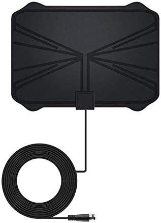 Monland Antena de TV Digital de 990 Millas TV 4K HD 1080P HD Amplificada con Amplificador de Se?Al Ajustable: Amazon.es: Electrónica