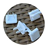 Yongcun Outlet Plugs Outlet Caps Outlet Covers Plug Remove Easily with Pull tab Pack of 100PCS