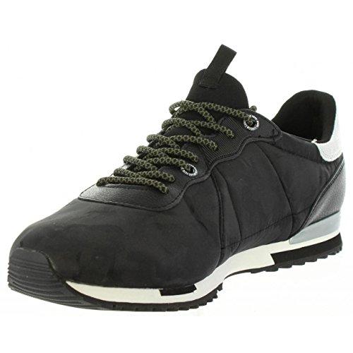 Noir noir Pepe De Coureur Hommes Les Sneaker Jeans Nylon Bricoler Uf1XxqORw