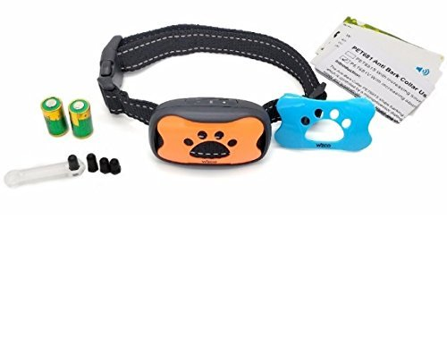 WIZCO- Intelligent Anti Bark Advance Dog Collar, Reliably Stops Dogs Barking Safely And Humanely. by WIZCO