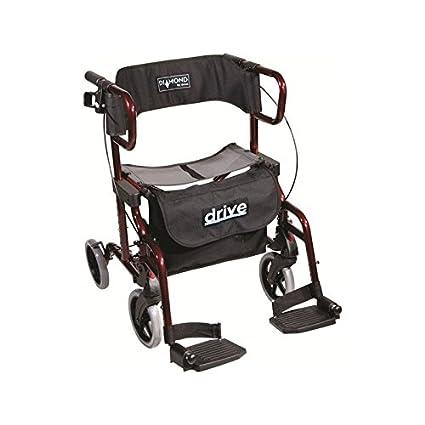 Rollator silla con ruedas plegable Drive Diamond Deluxe