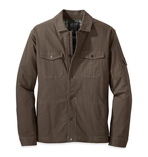 Outdoor Research Men's Winter Deadpoint Jacket, Mushroom,...