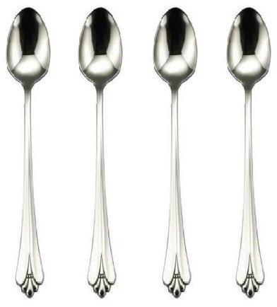 Oneida Royal Flute (Oneida Royal Flute Iced Tea Spoon, Set of 4)