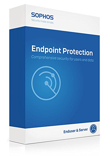 Sophos | EP2F1CSAA | Endpoint Protection Advanced - 25-49 User Band - 12 Months - NEW (The Best Endpoint Protection)