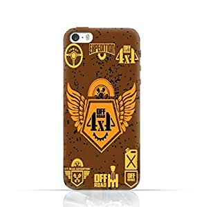 Apple iPhone 5/5s/SE TPU Silicone Case with 4 X 4 Off Road Design