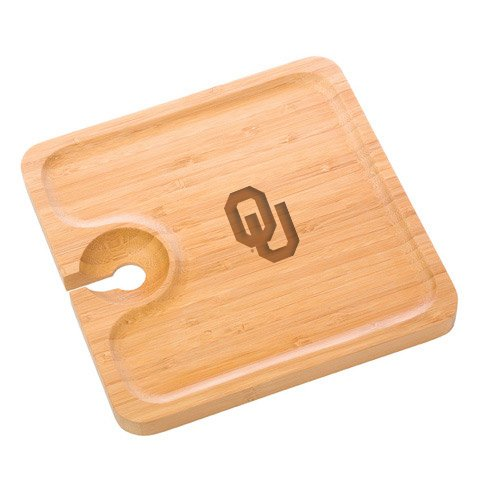 Oklahoma Bamboo Party Plate by The College Artisan (Image #1)
