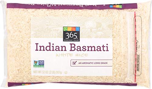 365 Everyday Value, Indian Basmati White Rice, 32 oz (Best Basmati Rice Recipe)