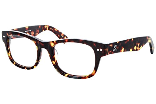 3.1 Phillip Lim Women's Chloris Matte Tortoise Frame Glasses - 50mm width - Phillip Lim