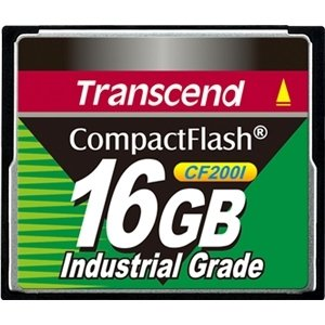 Transcend Information, Inc - Transcend Ts16gcf200i 16 Gb Compactflash (Cf) Card ''Product Category: Memory/Memory Cards'' by Unknown