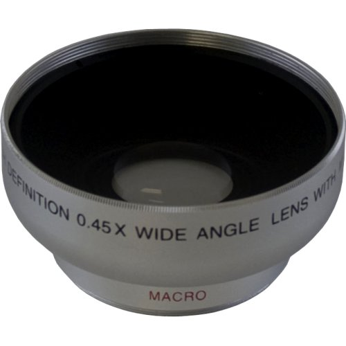 Digital Concepts 0.45X Professional 43mm Wide Angle HD Lens with Macro