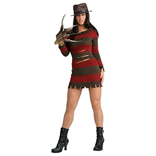 GSG Miss Krueger Costume Nightmare on Elm Street Freddy Halloween Dress ()