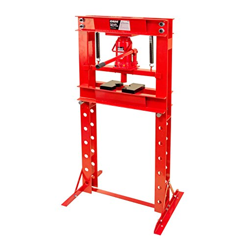 20 Ton Shop Press (OEMTOOLS 24810 Bottle Jack Shop Press, 20-Ton)