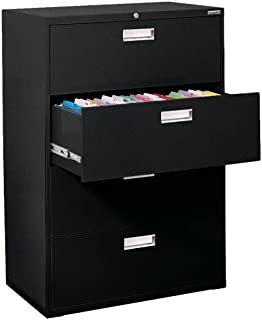 Sandusky Lee 600 Series Lateral File Steel 4-Drawer Cabinet, 36