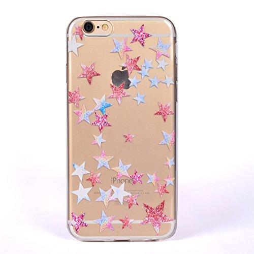 Mobiltelefonhülle - Für iPhone 6 Plus Buntes Löwenzahn Muster Soft TPU Schutzhülle ( Großauswahl : Ip6p0024e )