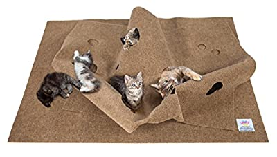 SnugglyCat The Ripple Cat Activity Play Mat Rug Made in USA