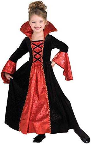 Complete Vampire Costume (Forum Novelties Vampire Princess Costume Dress, Child Small)