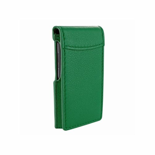 (Piel Frama iPod Nano 7th Generation Classic Magnetic Leather Case - Green)