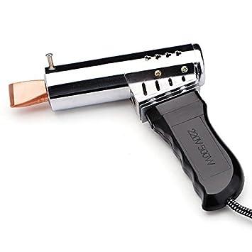 500W 220V externa térmica Plancha eléctrica de la pistola de soldadura de cobre Cabeza: Amazon.es: Bricolaje y herramientas
